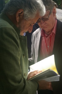 André with Breyten Breytenbach at the FLF
