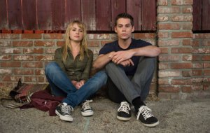 Britt Robertson and Dylan O'Brien in The First Time
