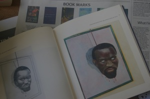 """Steve Biko"" and ""Autoportrait devant le miroir"" (both 1990) in Breyten Breytenbach, A Monologue in Two Voices (Fourthwall Books)"