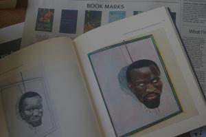 """Steve Biko"" and ""Autoportrait devant le miroir"" (both 1990) in Breyten Breytenbach, A Monologue in Two Voices (Fourthwall Books)"