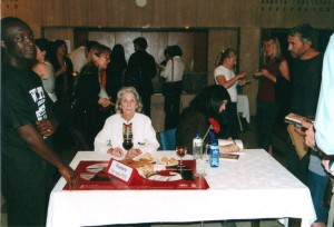 With Sontag at Wits in 2004.