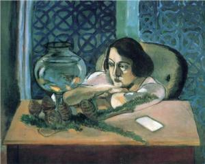 'Woman Before a Fish Bowl' by Henri Matisse (1922)