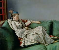 Jean-Etienne Liotard's portrait of Marie Adelaïde of France