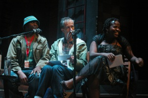 Niq Mhlongo, Geoff Dyer and Zukiswa Wanner