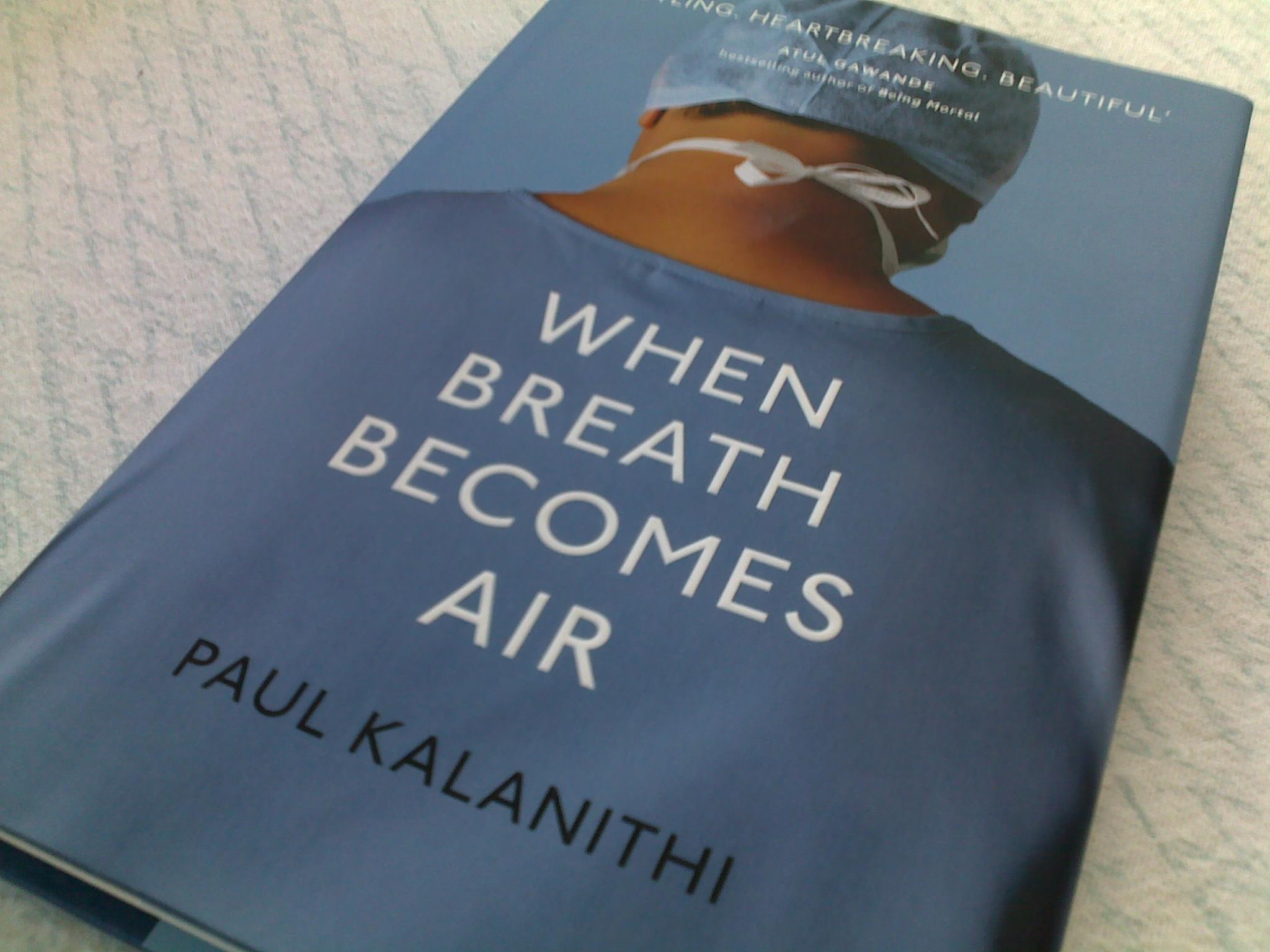 Nytimes book review when breath becomes air paul