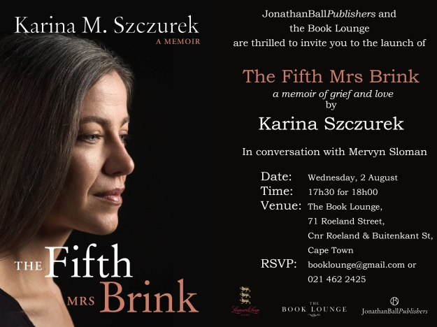 Book Lounge Invitation_The Fifth Mrs Brink