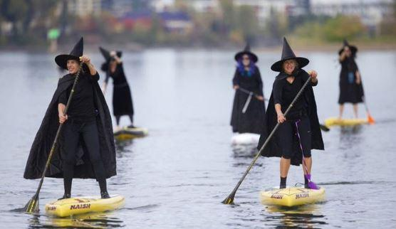 Standup Paddleboard Witches