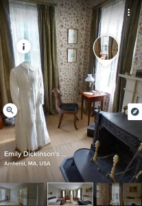 Emily Dickinson Museum_bedroom tour