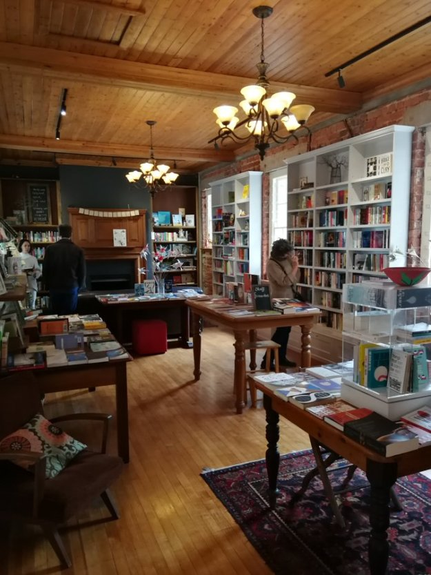 Kalk Bay Books in the new space