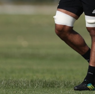 PRETORIA, SOUTH AFRICA - OCTOBER 05: Patrick Tuipulotu of the New Zealand (All Blacks) during the Rugby Championship New Zealand All Blacks captain's run at St Davids Marist Inanda 36 Rivonia Rd, Sandown, Sandton,on October 5, 2018 in Pretoria, South Africa. (Photo by Steve Haag/Getty Images)